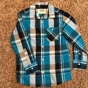 Boys Small Urban Pipeline Button Down Shirt